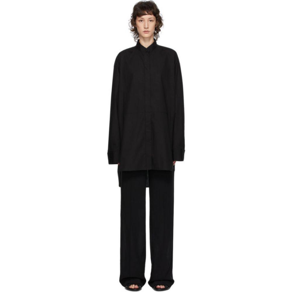 アンドゥムルメステール Ann Demeulemeester レディース ブラウス・シャツ トップス【black olda shirt】Black