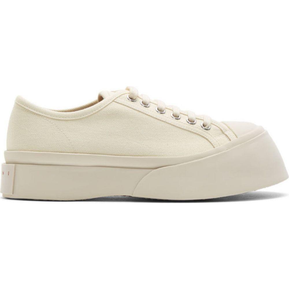 マルニ Marni レディース スニーカー シューズ・靴【off-white pablo sneakers】Ivory