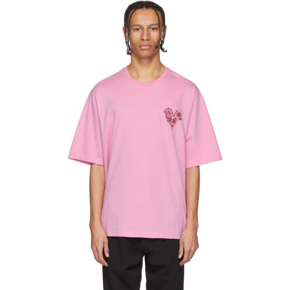 ケンゾー Kenzo メンズ Tシャツ トップス【pink limited edition valentine's day t-shirt】Begonia