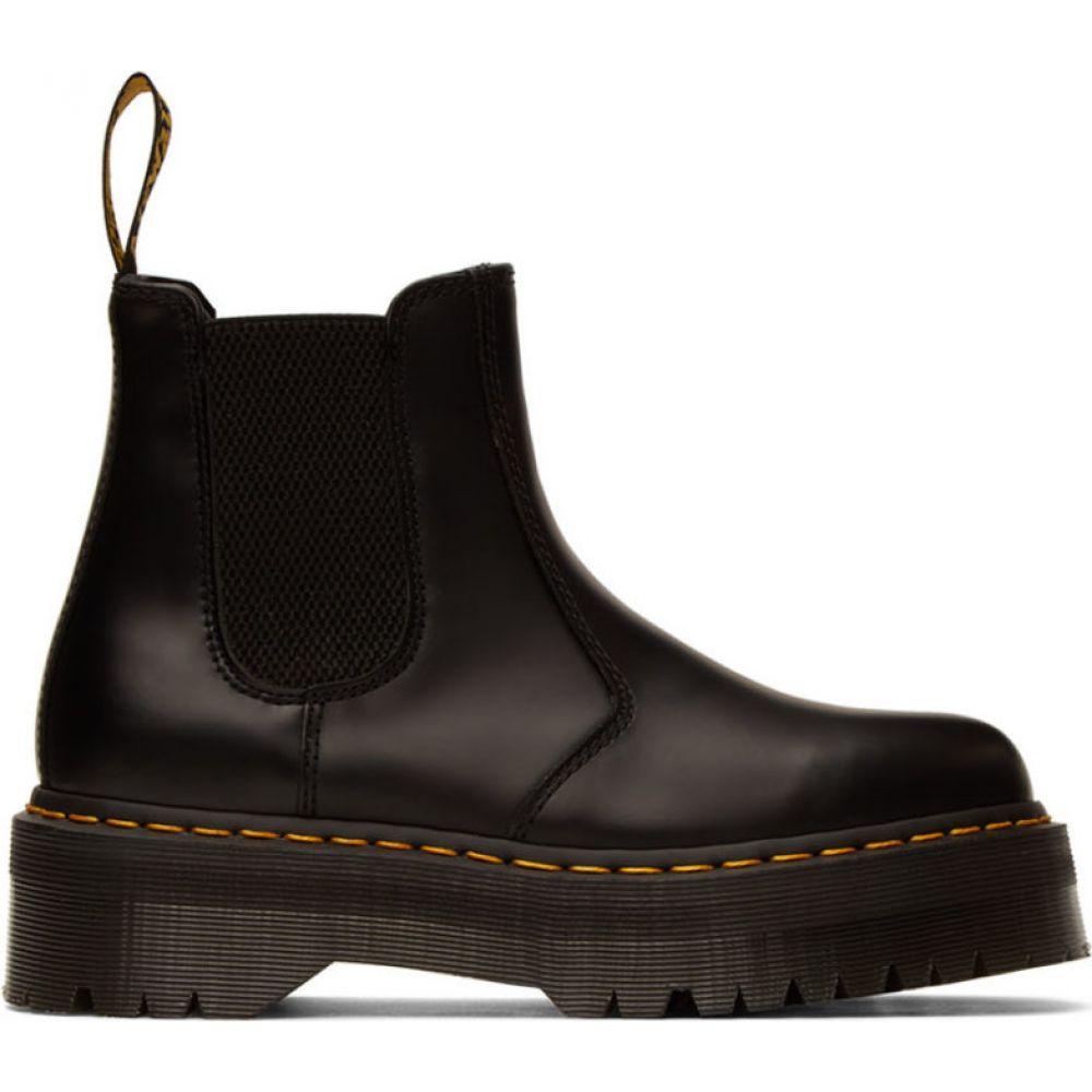 ドクターマーチン Dr. Martens メンズ ブーツ チェルシーブーツ シューズ・靴【black 2976 quad chelsea boots】Black