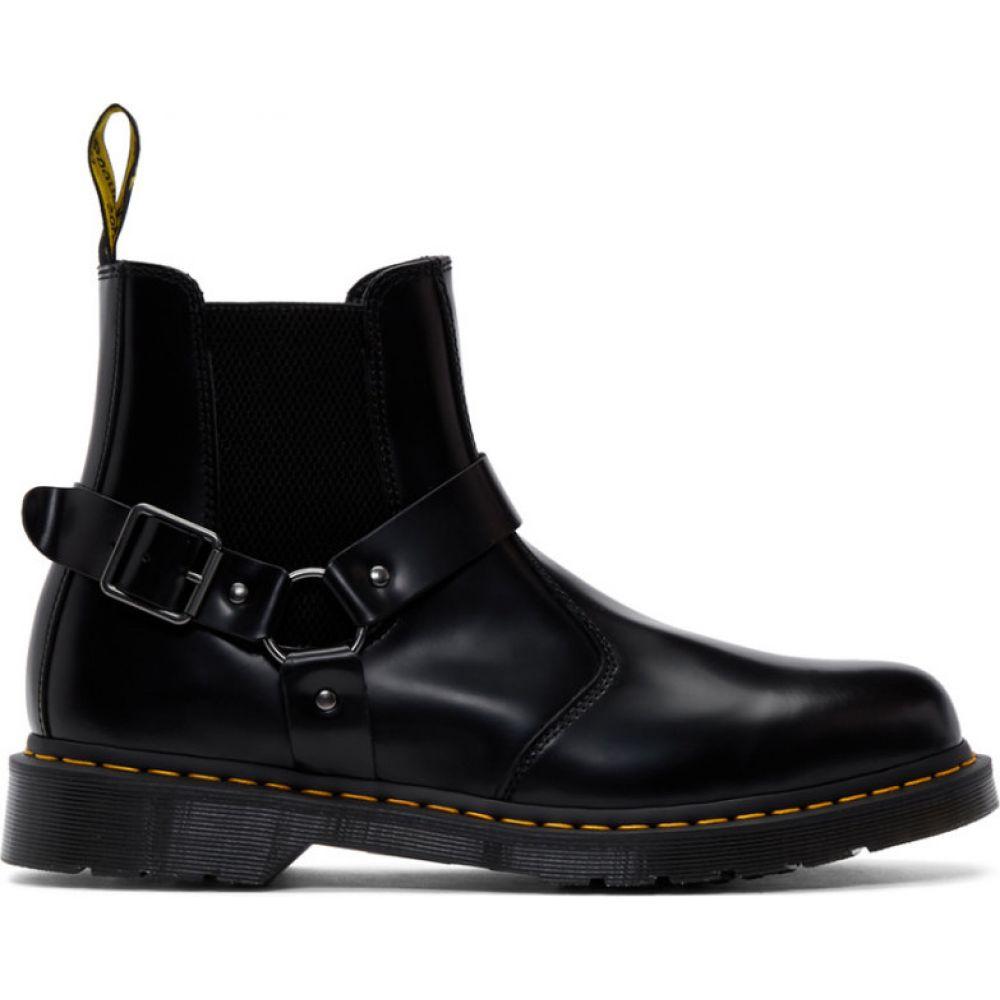 ドクターマーチン Dr. Martens メンズ ブーツ チェルシーブーツ シューズ・靴【black wincox chelsea boots】Black