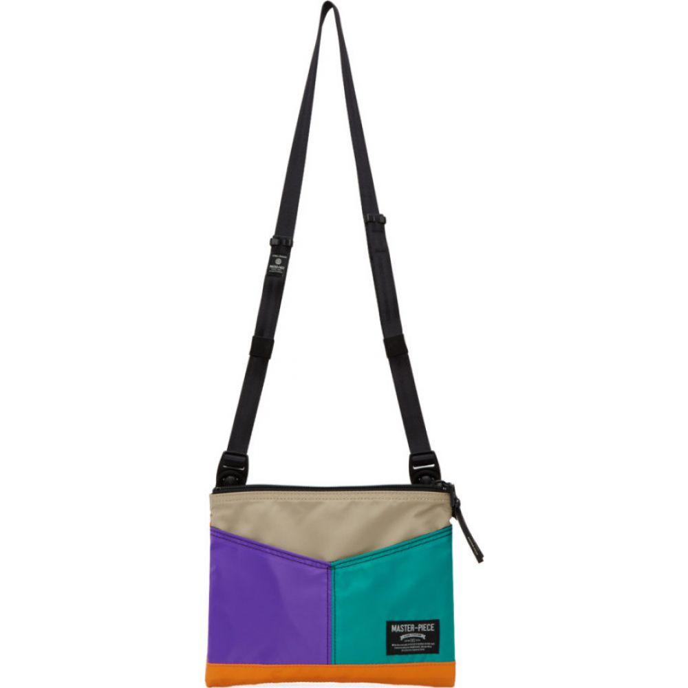 マスターピース Master-Piece Co メンズ メッセンジャーバッグ バッグ【multicolor sacoche messenger bag】Multi-b