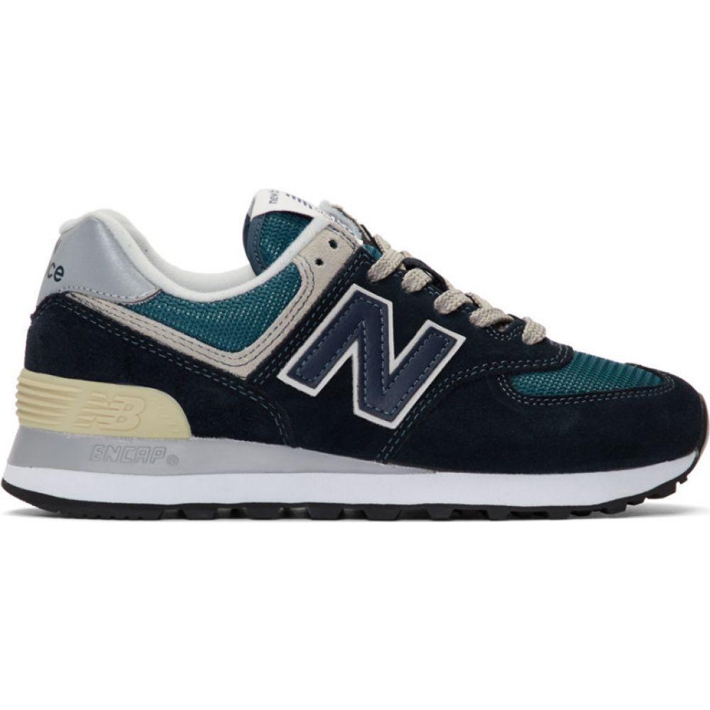 ニューバランス New Balance レディース スニーカー シューズ・靴【navy 574 sneakers】Dark navy
