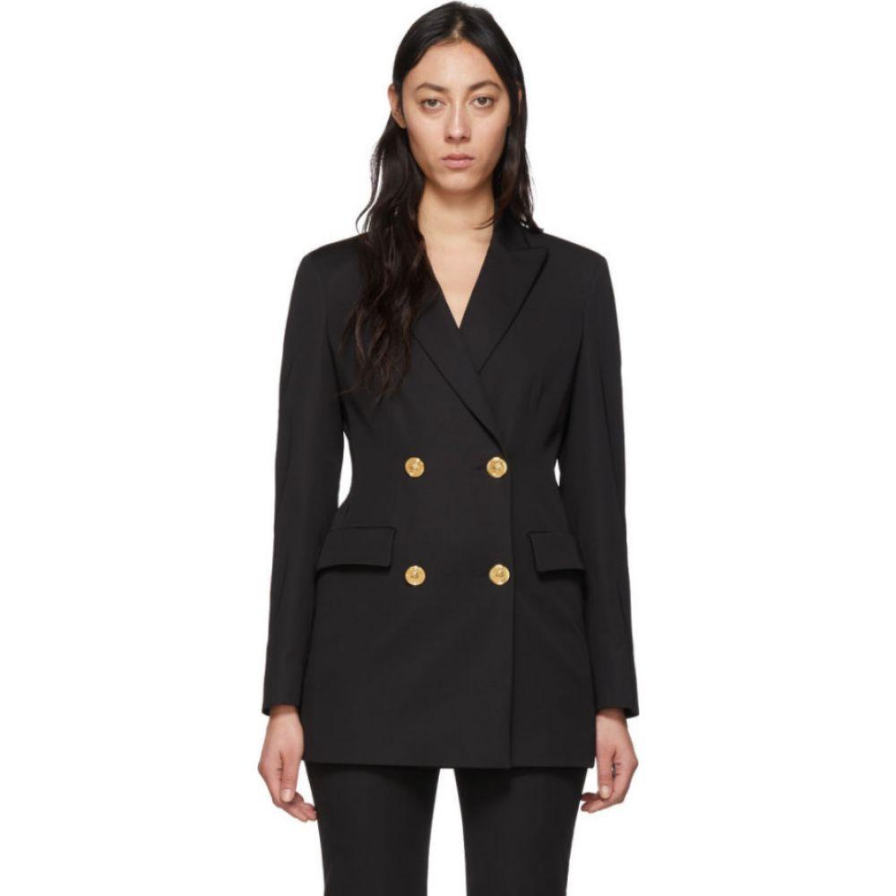 ヴェルサーチ Versace レディース スーツ・ジャケット アウター【black four button blazer】Black