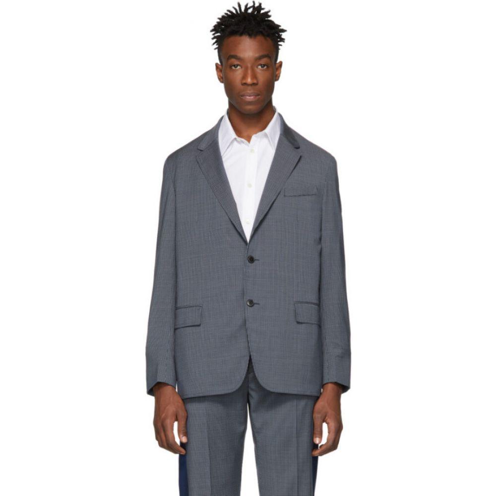 ヴァレンティノ Valentino メンズ スーツ・ジャケット アウター【navy check loose blazer】