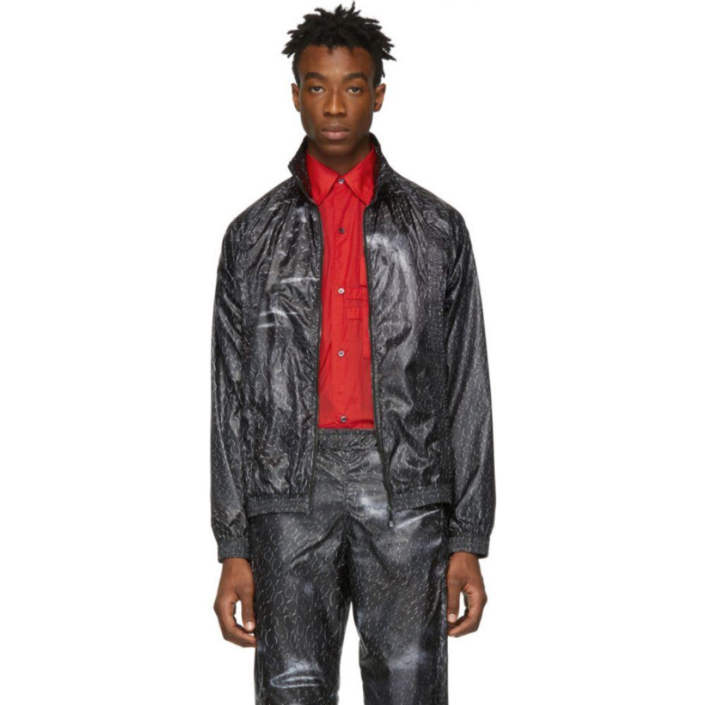 コットワイラー Cottweiler メンズ ジャージ アウター【black monogram track jacket】