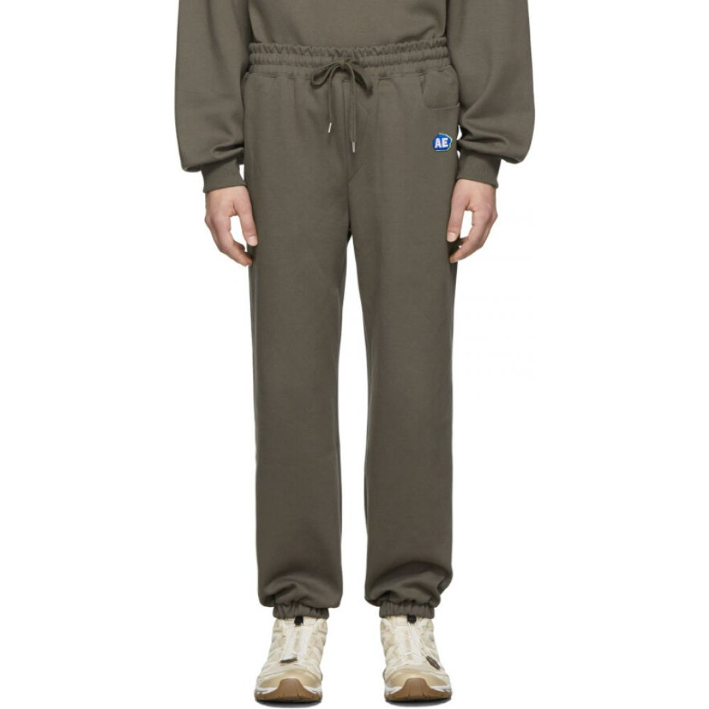 アーダーエラー ADER error メンズ スウェット・ジャージ ボトムス・パンツ【grey stone logo lounge pants】Charcoal