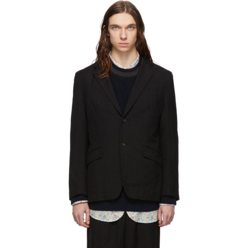 コム デ ギャルソン Comme des Garcons Homme メンズ スーツ・ジャケット アウター【black serge blazer】Black