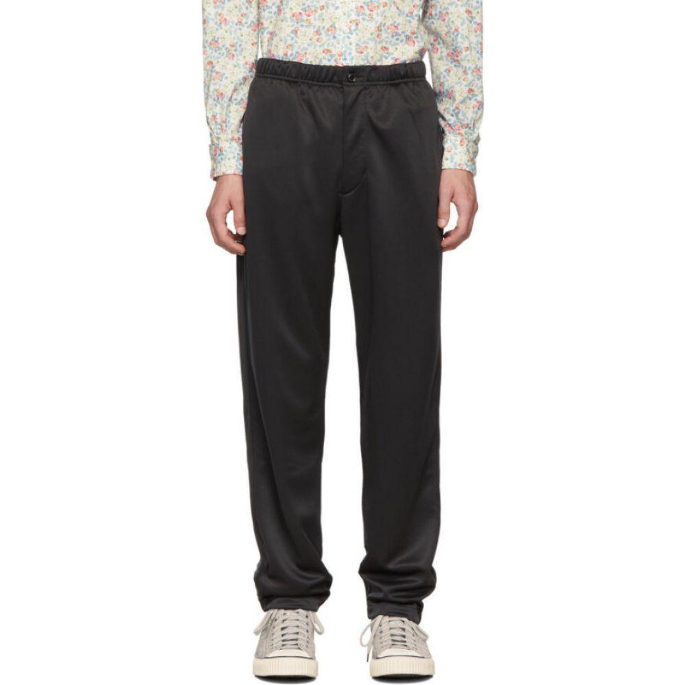 エンジニアードガーメンツ Engineered Garments メンズ スウェット・ジャージ ボトムス・パンツ【black fleece jog lounge pants】Black