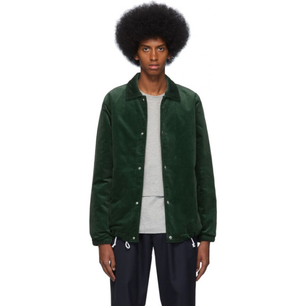 コム デ ギャルソン Comme des Garcons Shirt メンズ ジャケット アウター【green corduroy jacket】Green
