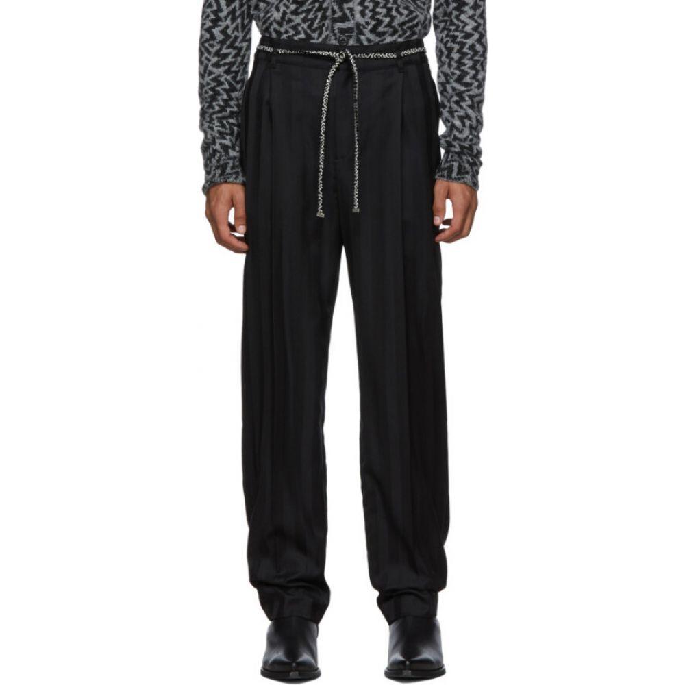 イヴ サンローラン Saint Laurent メンズ ジョガーパンツ ボトムス・パンツ【black tailoring jogger trousers】Black