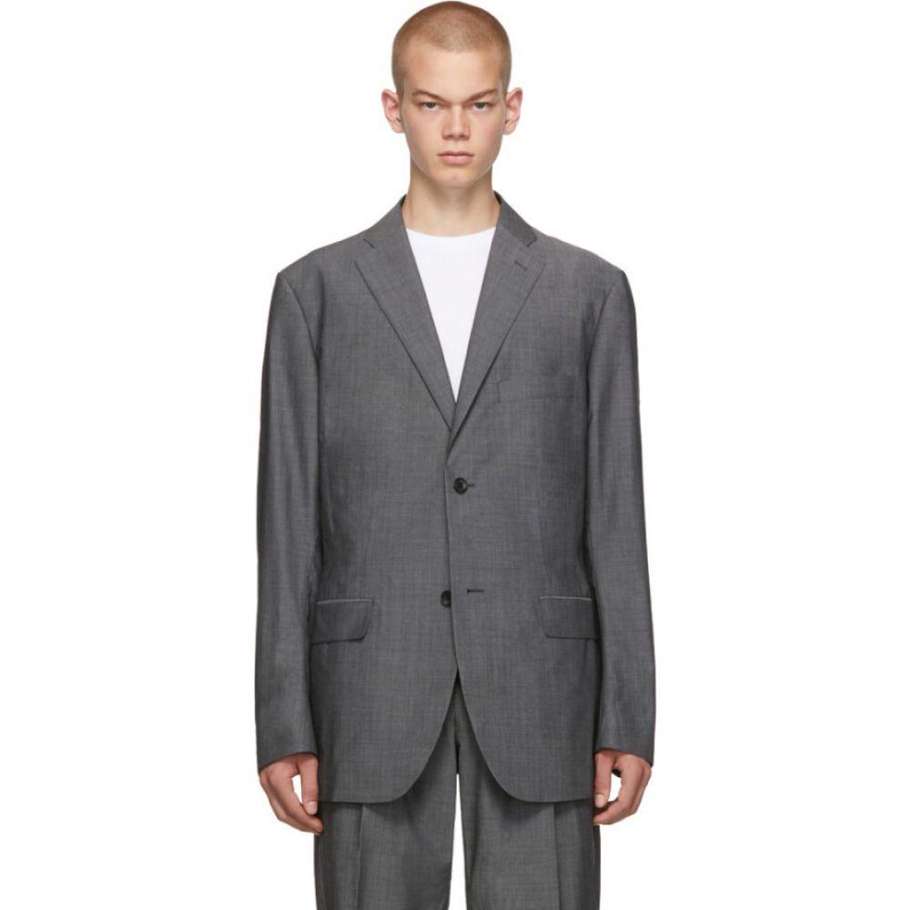 イッセイ ミヤケ Issey Miyake Men メンズ スーツ・ジャケット アウター【grey wool voile blazer】Grey