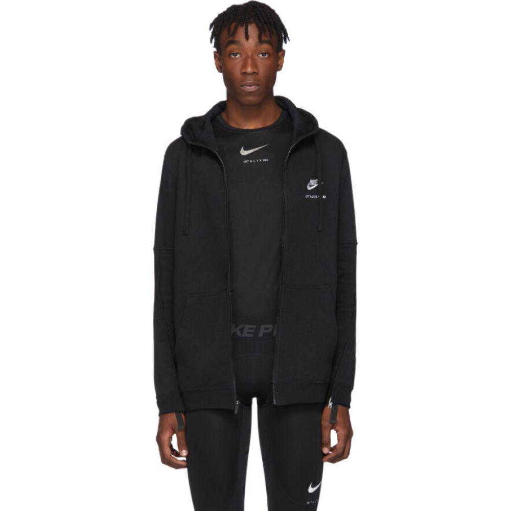アリクス 1017 ALYX 9SM メンズ パーカー トップス【black nike edition zip hoodie】Black