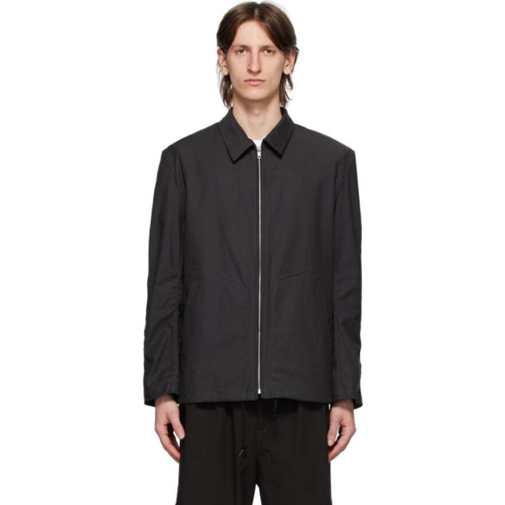 コム デ ギャルソン Comme des Garcons Homme メンズ ジャケット アウター【grey twill camo pattern jacket】Charcoal