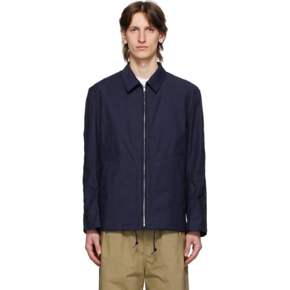 コム デ ギャルソン Comme des Garcons Homme メンズ ジャケット アウター【navy twill camo pattern jacket】Navy