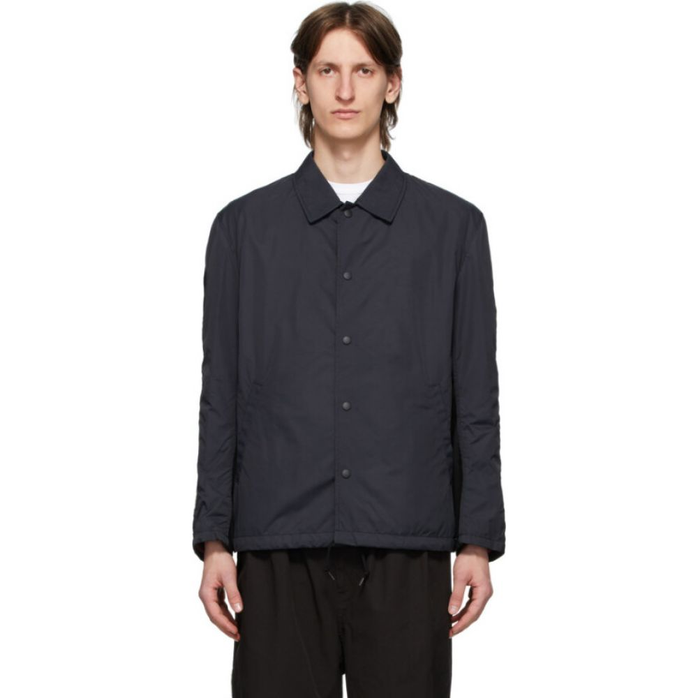 コム デ ギャルソン Comme des Garcons Homme メンズ ジャケット コーチジャケット アウター【black satin coaches jacket】Black
