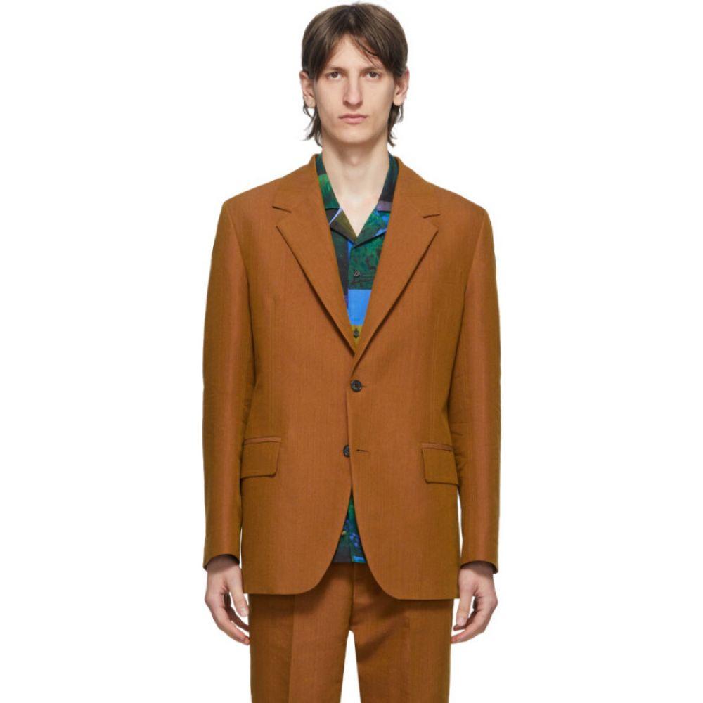 アクネ ストゥディオズ Acne Studios メンズ スーツ・ジャケット アウター【orange single-breasted suit blazer】Apricot orange