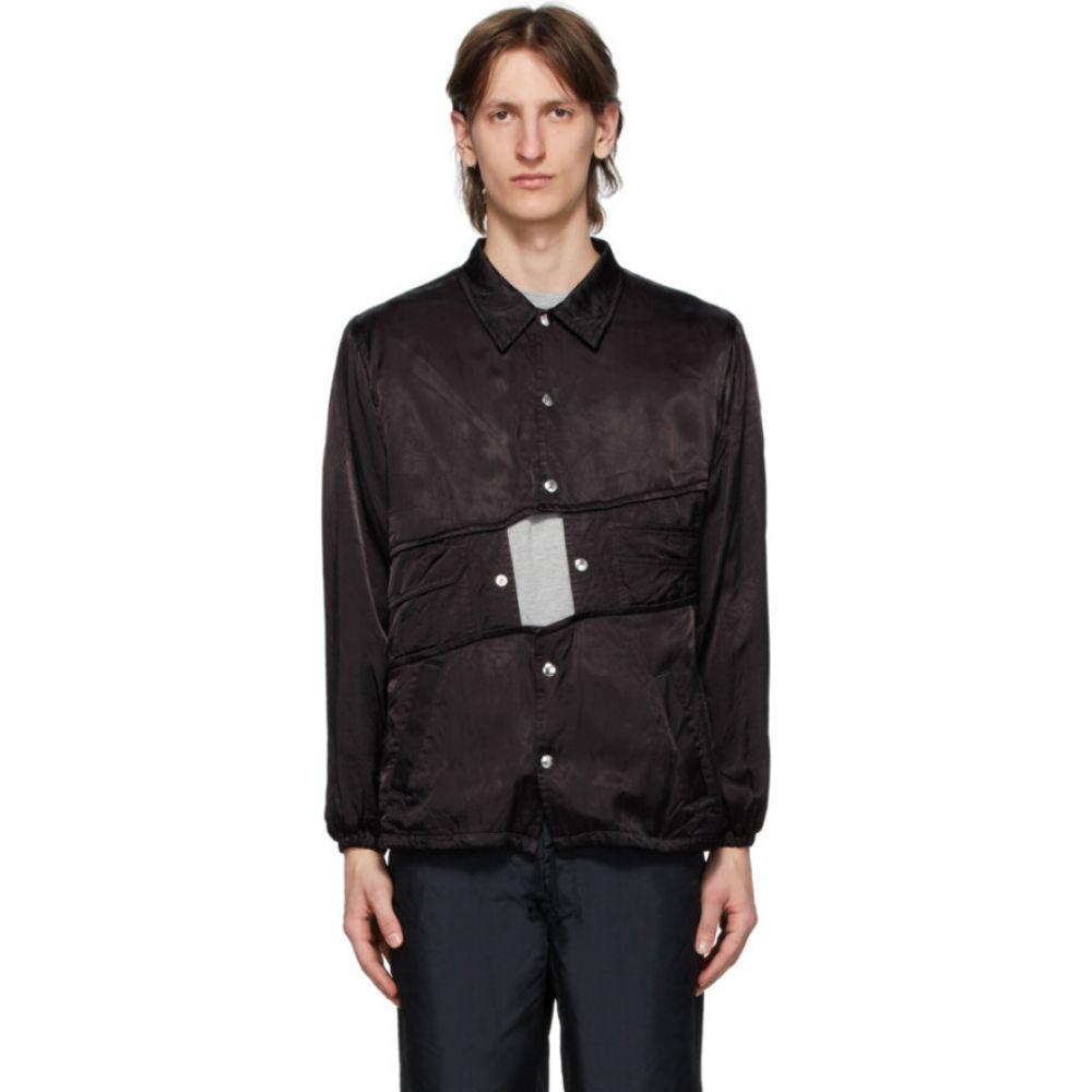 コム デ ギャルソン Comme des Garcons Homme Plus メンズ ジャケット アウター【black cupro satin jacket】Black