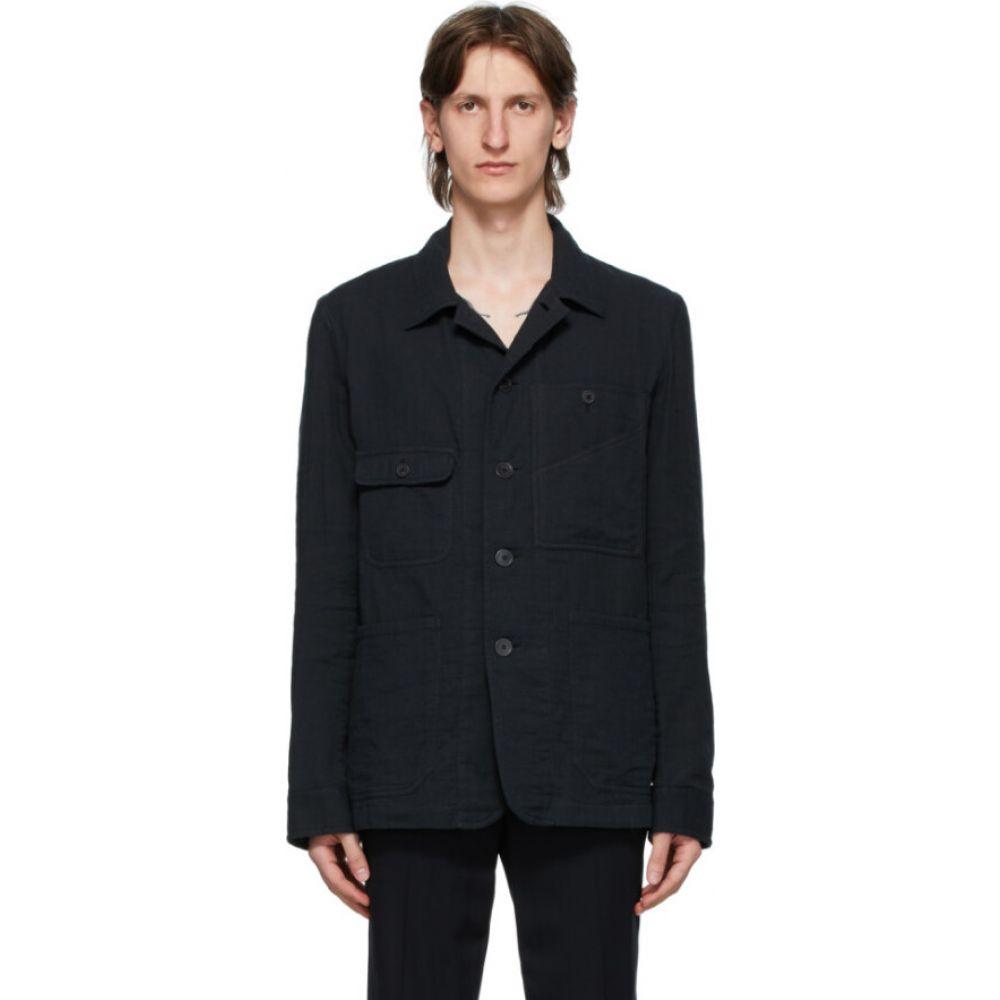 アンドゥムルメステール Ann Demeulemeester メンズ ジャケット シャツジャケット アウター【black isle shirt jacket】Black