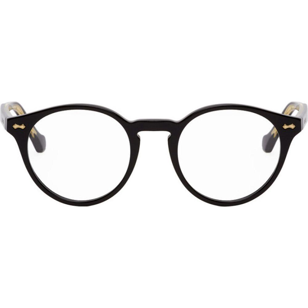 グッチ Gucci メンズ メガネ・サングラス 【black round glasses】Black