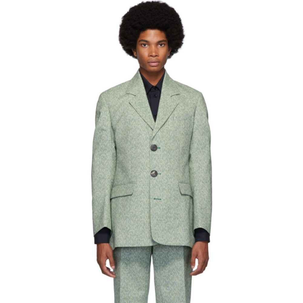 ナマチェコ Namacheko メンズ スーツ・ジャケット アウター【green shirin blazer】Green