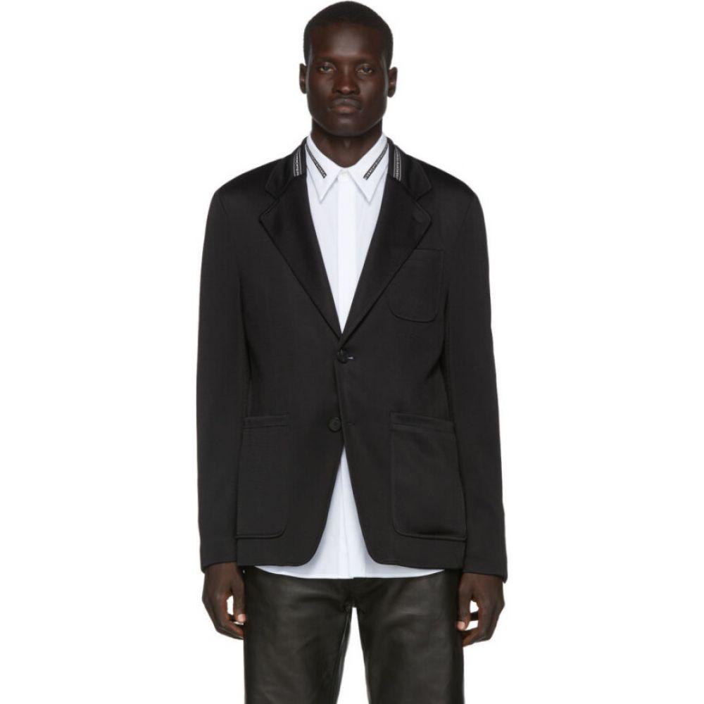 ジバンシー Givenchy メンズ スーツ・ジャケット アウター【black webbing blazer】Black