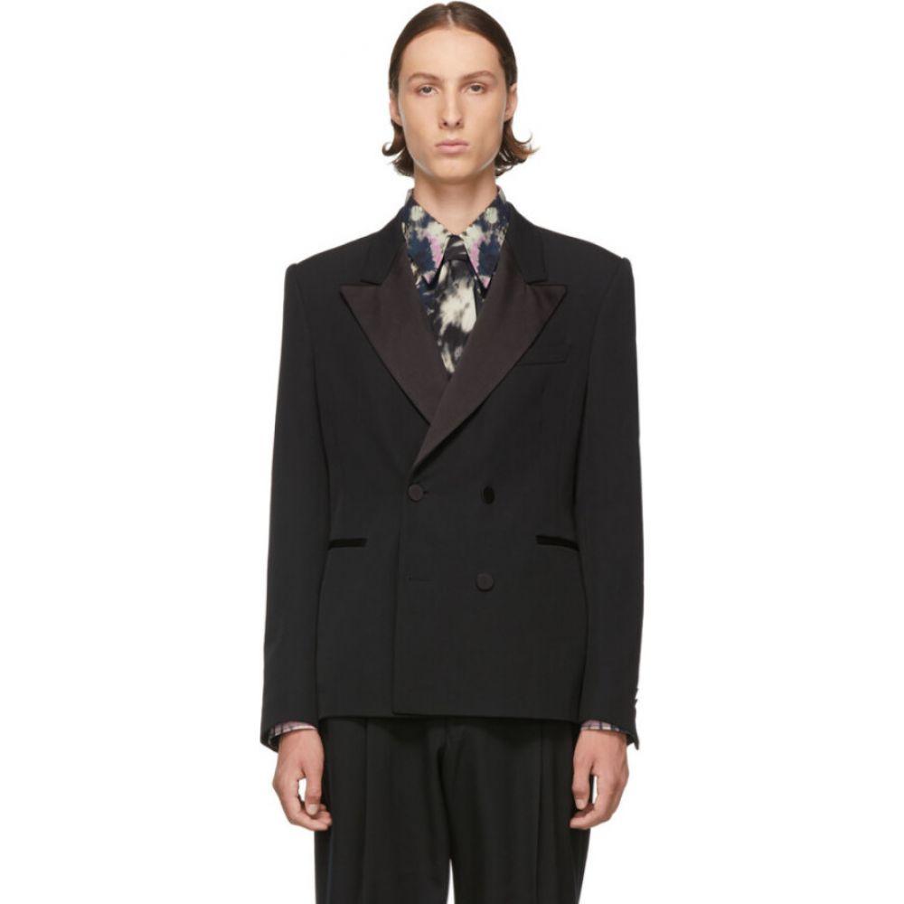 ドリス ヴァン ノッテン Dries Van Noten メンズ スーツ・ジャケット タキシード アウター【black tuxedo blazer】Black
