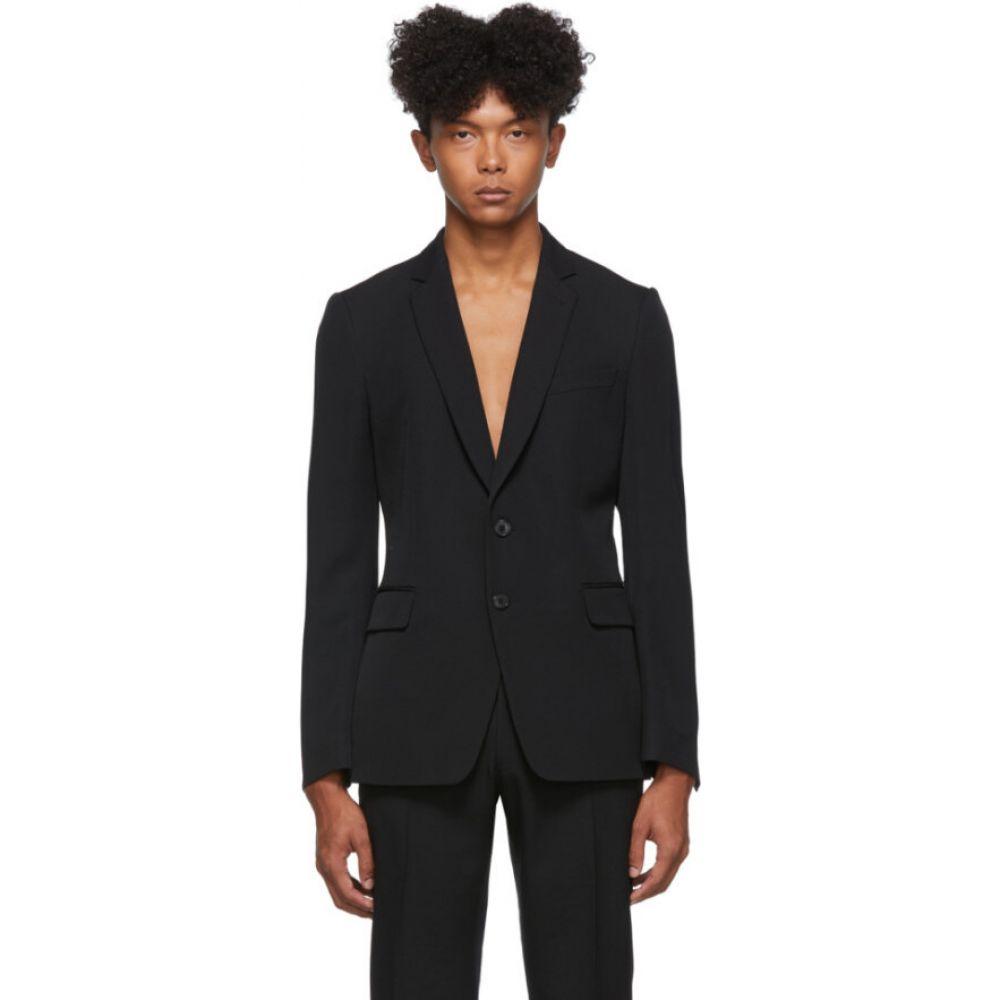 ドリス ヴァン ノッテン Dries Van Noten メンズ スーツ・ジャケット アウター【black wool blazer】Black