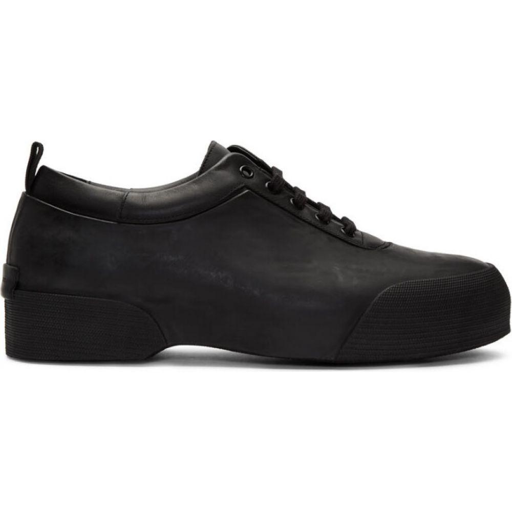 ドリス ヴァン ノッテン Dries Van Noten メンズ スニーカー シューズ・靴【black rubber sneakers】Black