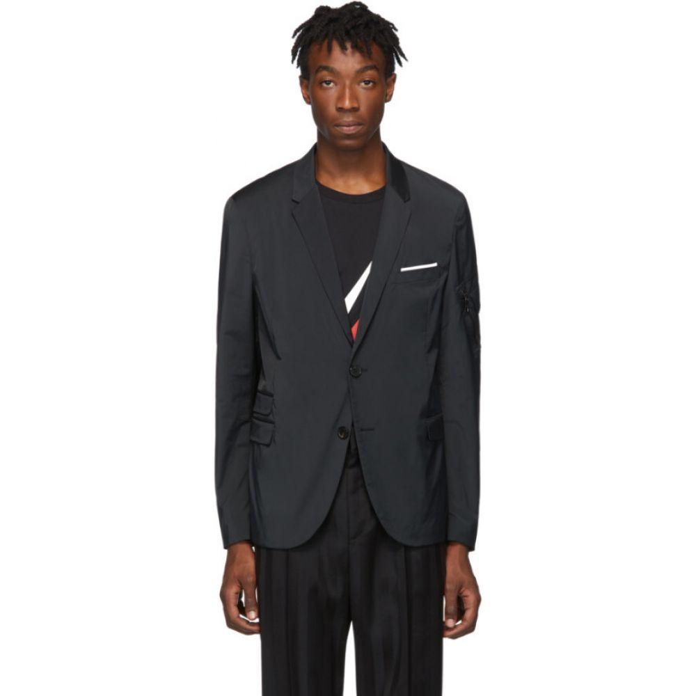 ニール バレット Neil Barrett メンズ スーツ・ジャケット アウター【black tech blazer】Black