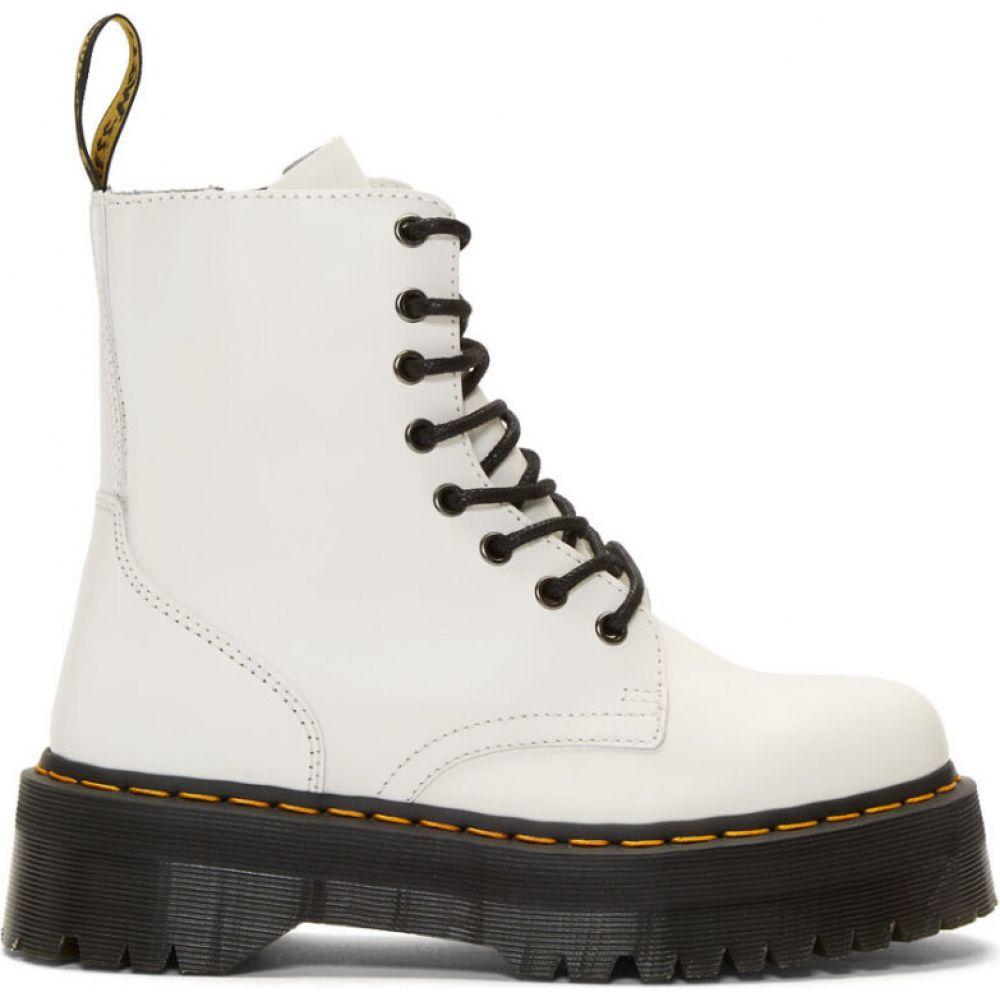 ドクターマーチン Dr. Martens メンズ ブーツ シューズ・靴【white jadon boots】White