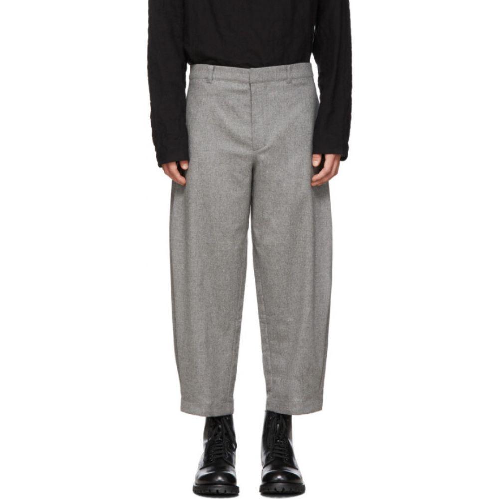 トゥーグッド Toogood メンズ スラックス ボトムス・パンツ【grey wool 'the artist' trousers】Graphite