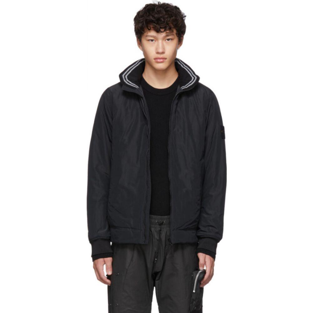 ストーンアイランド Stone Island メンズ ジャケット アウター【black micro reps jacket】Black