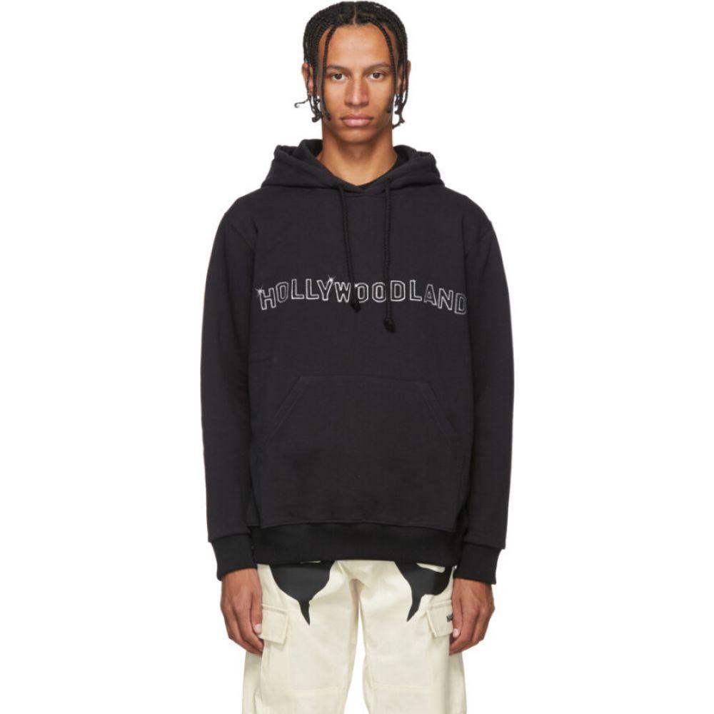 ナサシーズンズ Nasaseasons メンズ パーカー トップス【black 'hollywoodland' hoodie】Black
