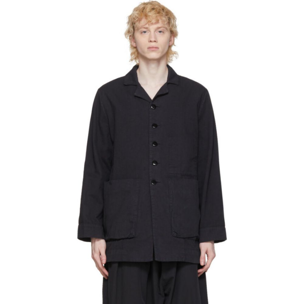 トゥーグッド Toogood メンズ ジャケット アウター【black 'the photographer' jacket】Flint