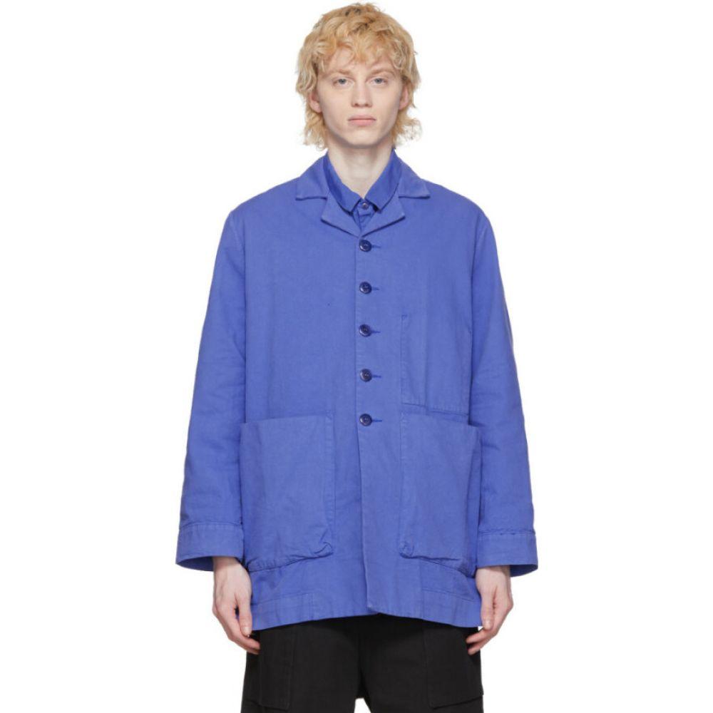トゥーグッド Toogood メンズ ジャケット アウター【blue 'the photographer' jacket】Cobalt