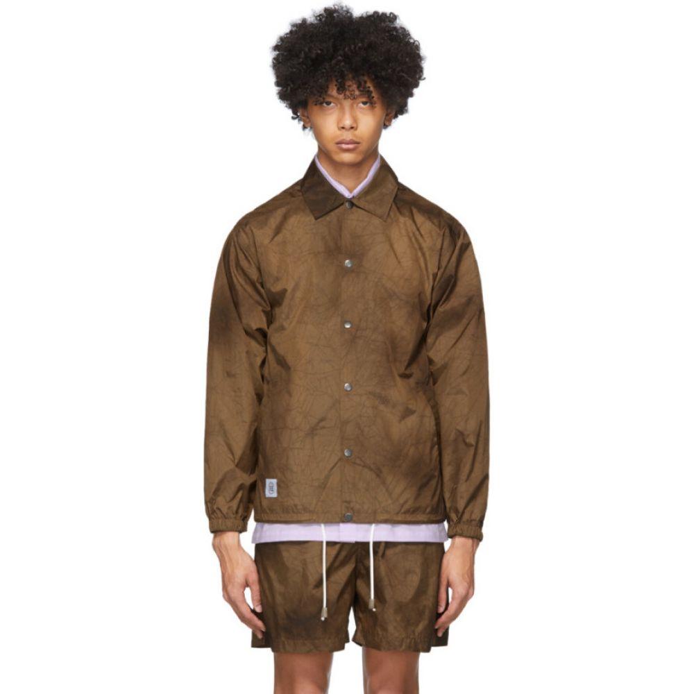 ナヌシュカ Nanushka メンズ ジャケット アウター【brown tie-dye terry jacket】Brown tie dye
