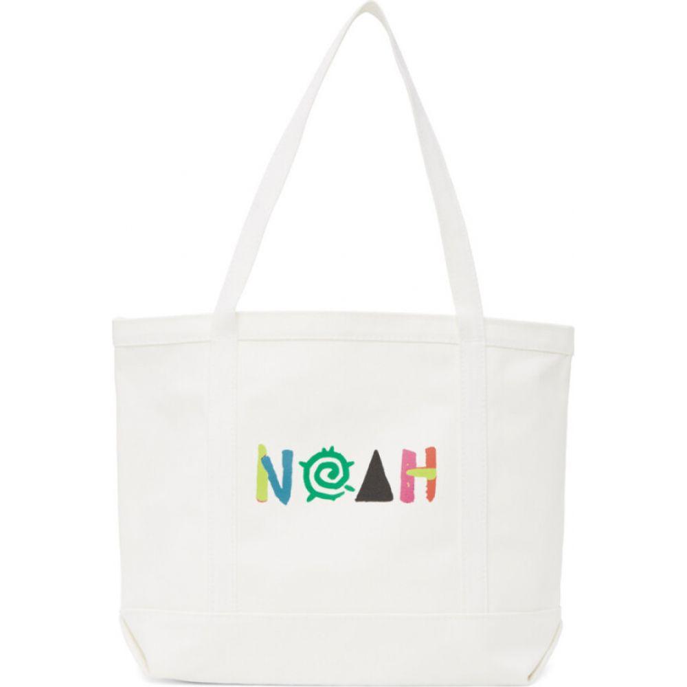 ノア Noah NYC メンズ トートバッグ バッグ【white more core tote】White