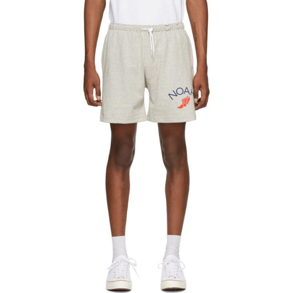 ノア Noah NYC メンズ ショートパンツ ボトムス・パンツ【grey jersey shorts】Ash