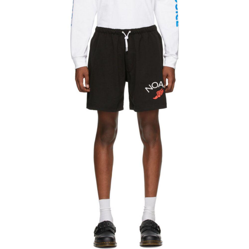 ノア Noah NYC メンズ ショートパンツ ボトムス・パンツ【black jersey shorts】Black