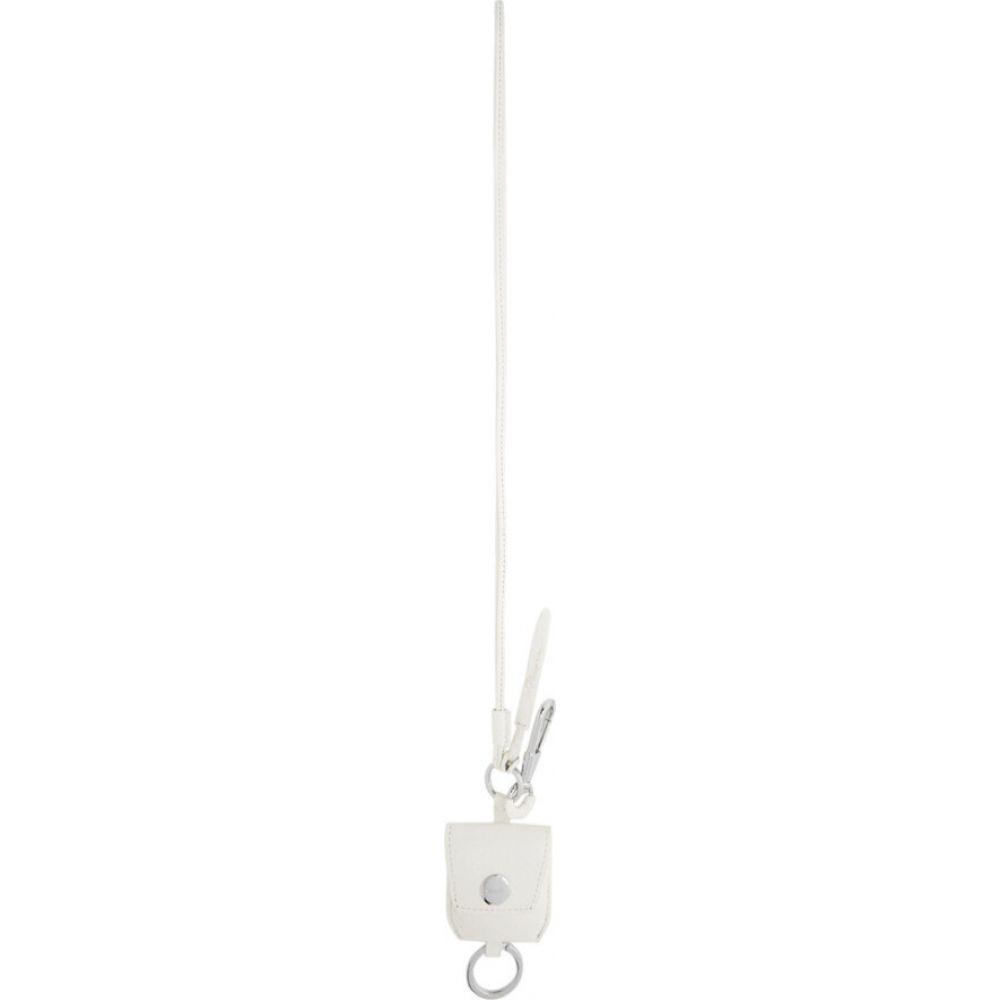 スリーワン フィリップ リム 3.1 Phillip Lim メンズ キーホルダー キーチェーン【white snake airpod holder keychain】White
