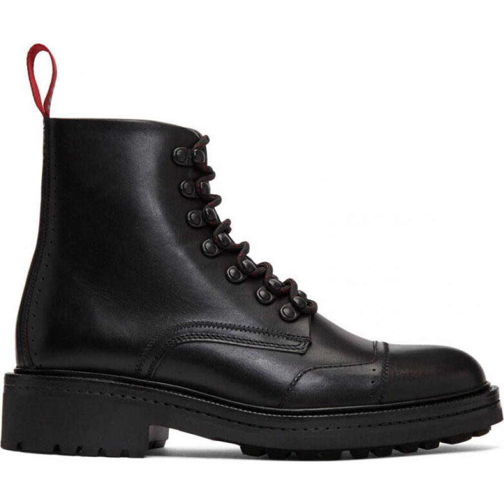 ヒューゴ ボス Hugo メンズ ブーツ シューズ・靴【black impact boots】Black