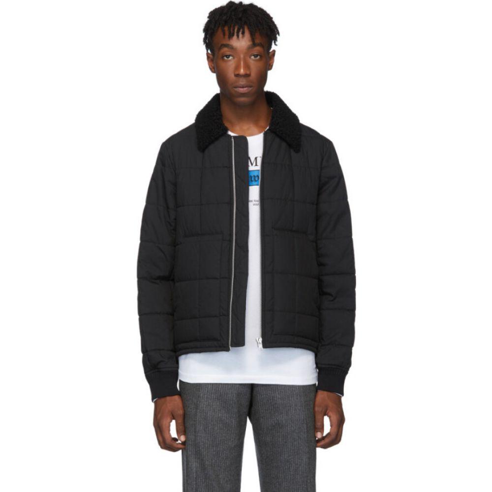 ヘルムート ラング Helmut Lang メンズ ブルゾン ミリタリージャケット アウター【black quilted bomber jacket】Black