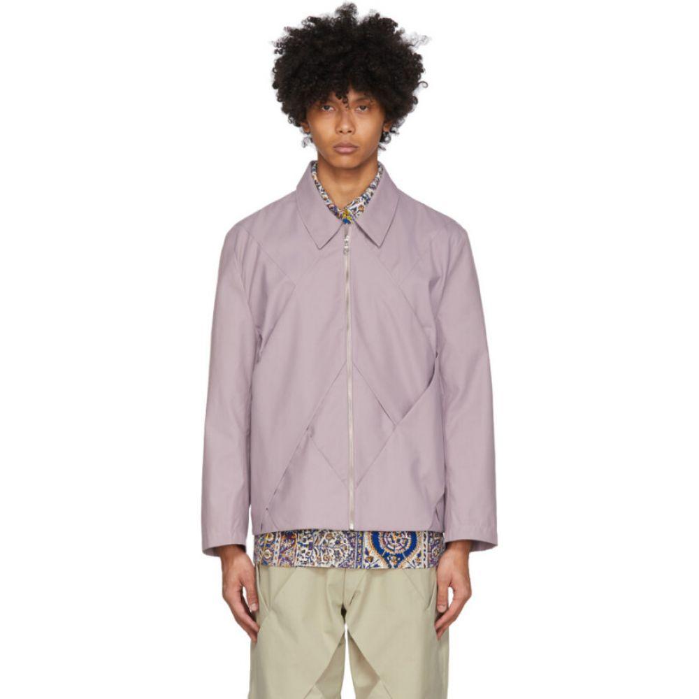 パリアファルザネ paria /FARZANEH メンズ ジャケット アウター【purple pastry jacket】Lavender