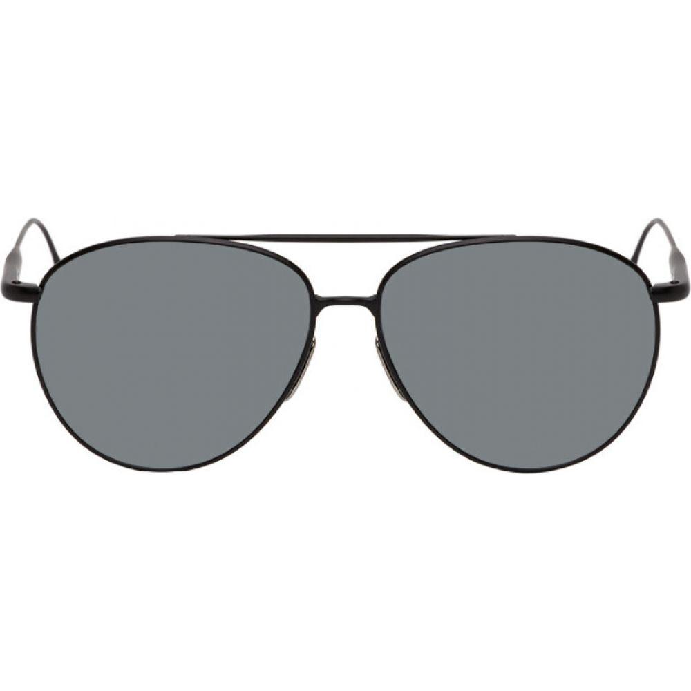 バレード Byredo メンズ メガネ・サングラス 【black 'the certified pilot' sunglasses】Black/Grey