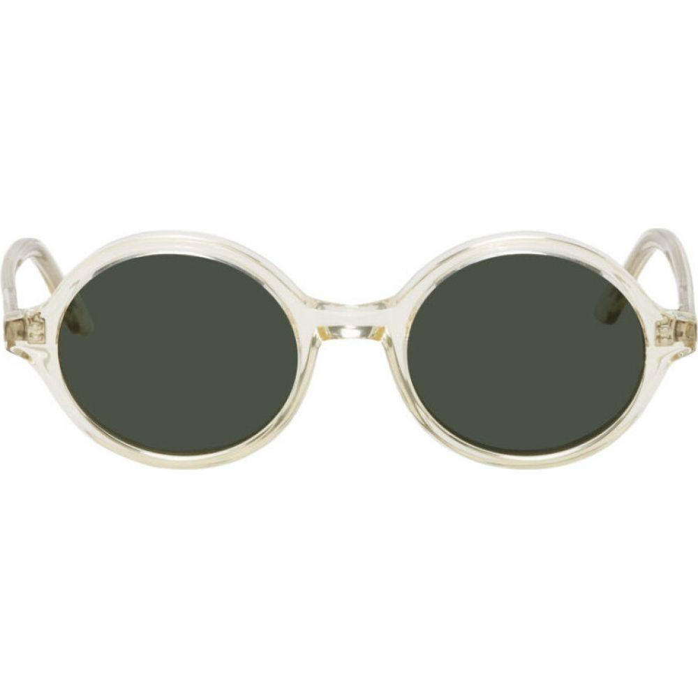 ハン コペンハーゲン Han Kjobenhavn メンズ メガネ・サングラス 【off-white doc sunglasses】Champagne/Sun green