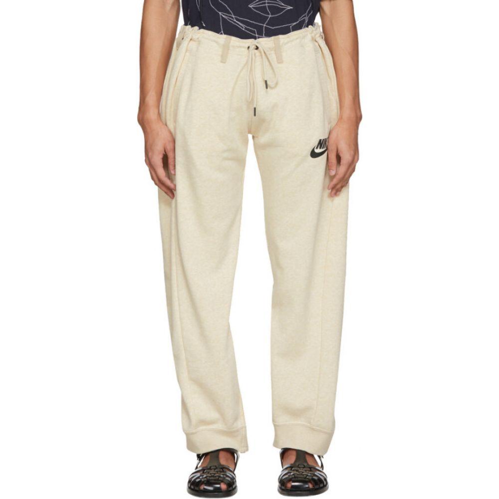 ブレス Bless メンズ スウェット・ジャージ ボトムス・パンツ【off-white & beige overjogging jean lounge pants】Ecru/Beige