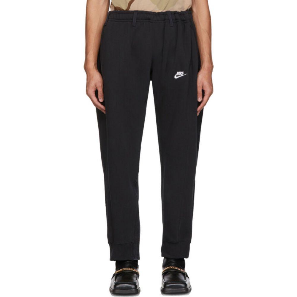 ブレス Bless メンズ スウェット・ジャージ ボトムス・パンツ【black overjogging jean lounge pants】Black