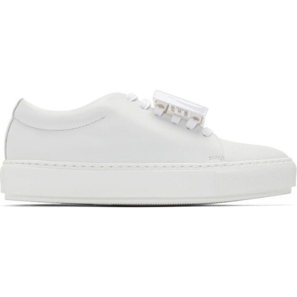 アクネ ストゥディオズ Acne Studios レディース スニーカー シューズ・靴【white graphic sneakers】White