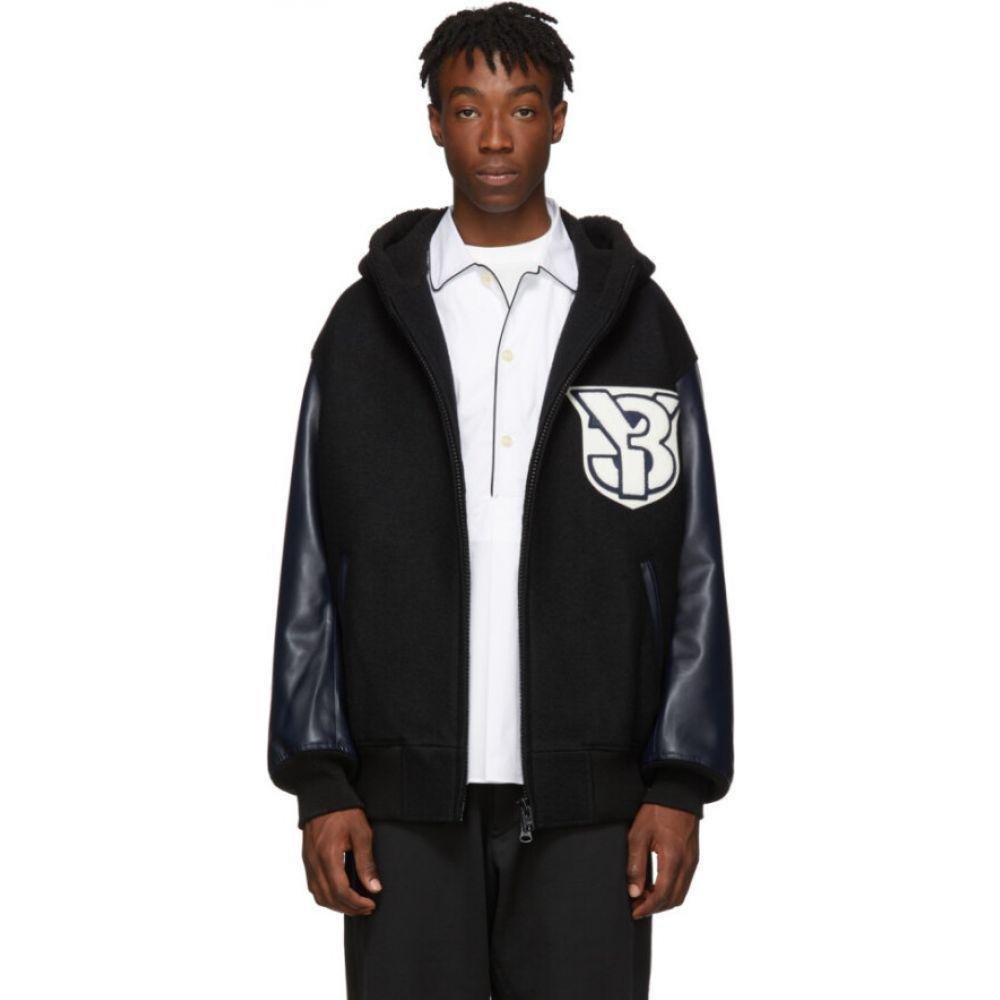 ワイスリー Y-3 メンズ ブルゾン ミリタリージャケット アウター【black varsity bomber jacket】Black/Legend ink